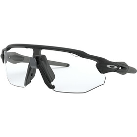 Oakley Radar EV Advancer Brillenglas, matte black/clear-black photochromic
